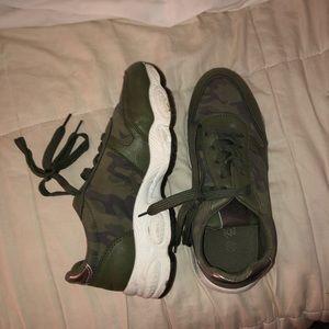 Nasty Gal Camo Sneakers